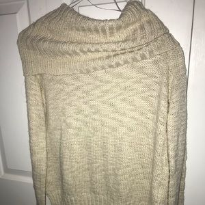 Tan crewneck sweater